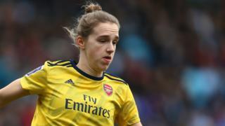 Arsenal Women forward Vivianne Miedema