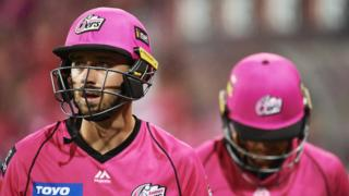 James Vince of Sydney Sixers