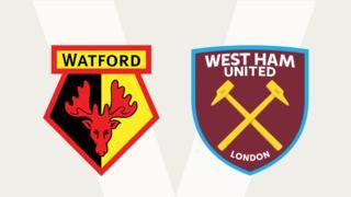 Watford v West Ham United