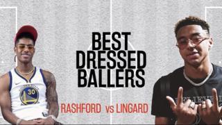 Best Dressed Ballers: Rashford vs Lingard