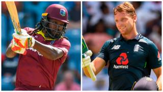 Gayle & Buttler both scored hundreds
