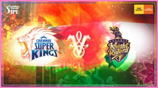Chennai Super Kings v Kolkata Knight Riders