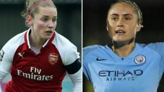 Kim Little (left) and Steph Houghton