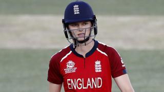 England's Amy Joens