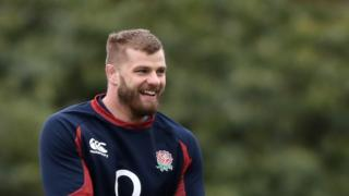 George Kruis smiling