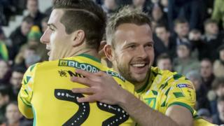 Norwich City striker Jordan Rhodes