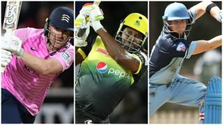 Eoin Morgan, Chris Gayle and Steve Smith