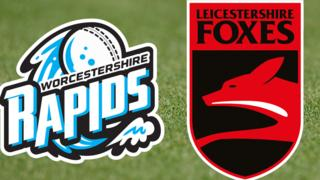 Worcestershire Rapids and Leicestershire Rapids