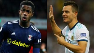 Sessegnon and Lo Celso