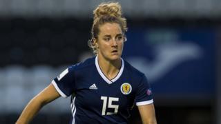 Scotland defender Sophie Howard