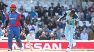 England wicket taker Joffra Archer