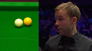 Ali Carter's controversial yellow