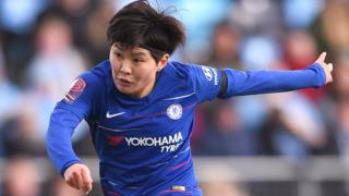 Ji So-Yun of Chelsea