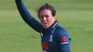 England's Georgia Elwiss