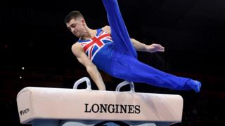 Great Britain's Max Whitlock