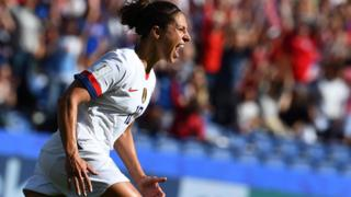 United States forward Carli Lloyd