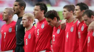 England line-up ahead of their group match with Croatia