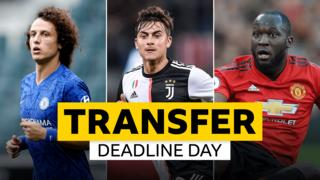 David Luiz, Paulo Dybala, Romelu Lukaku