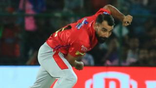 Mohammed Shami of Kings XI Punjab