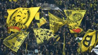 The Dortmund crowd