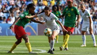New Zealand forward Olivia Chance