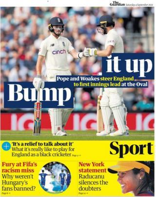 The Guardian el sábado