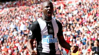 Jetro Willems of Newcastle United