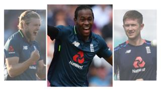 David Willey, Jofra Archer, Joe Denly