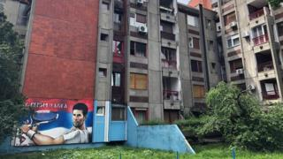 The home of Novak Djokovic's grandfather in Belgrade
