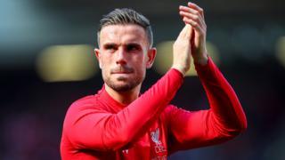 Liverpool captain Jordan Henderson