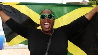 Jamaica fan