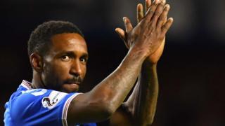 Rangers forward Jermain Defoe