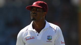 West Indies bowler Shannon Gabriel