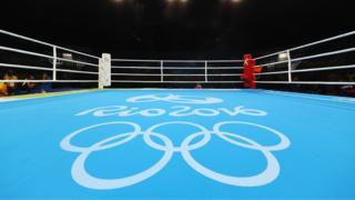 Rio boxing ring