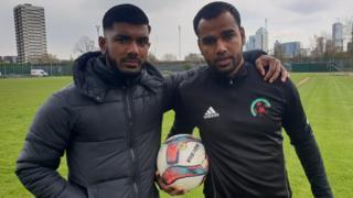 Rokhib Choudhury (L), Foysal Ali, (R)