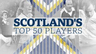 Scotland's top 50 players