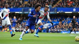 Chelsea attack
