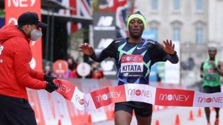 Shura Kitata wins