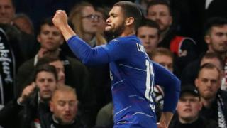 Ruben Loftus-Cheek celebrates