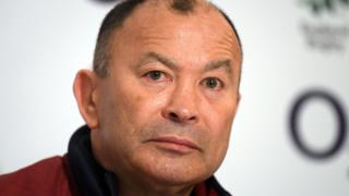 England rugby union coach Eddie Jones
