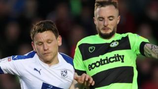 Forest Green Rovers v Tranmere Rovers