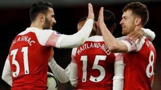 Arsenal goal