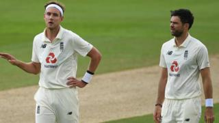 Staurt Broad and James Anderson