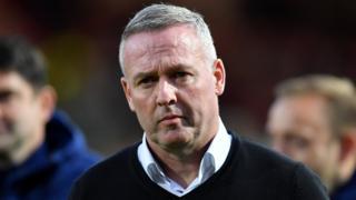 Ipswich boss Paul Lambert