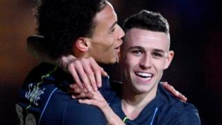 Phil foden and Leroy Sane