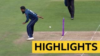 Adil Rashid run-out