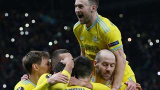 Astana celebrate