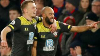 Nathan Redmond scores for Southampton