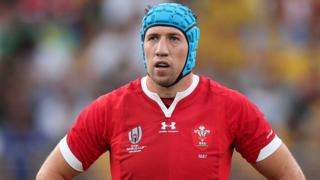 Wales flanker Justin Tipuric