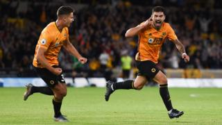 Ruben Neves of Wolverhampton Wanderers